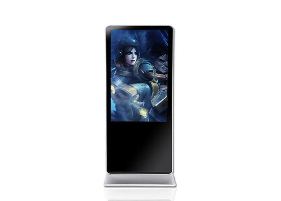 1920x1080P 43 Inch HD Digital Advertising Screens Dengan Garansi 1 Tahun